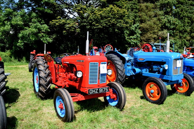 David Brown 900 tractor - 179th Omagh Annual Agricultural Show 2019