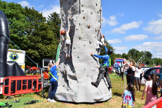 Climbing rock - 179th Omagh Annual Agricultural Show 2019