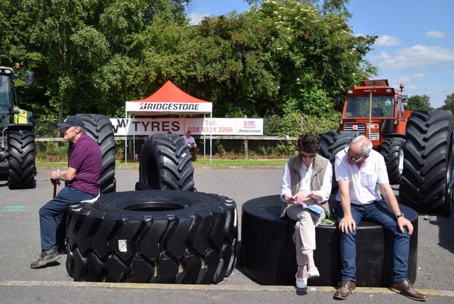Feeling tyred? - 179th Omagh Annual Agricultural Show 2019