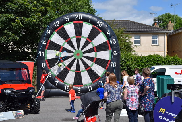 Target football - 179th Omagh Annual Agricultural Show 2019