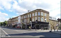 TQ3385 : Shops on Stoke Newington Road by JThomas