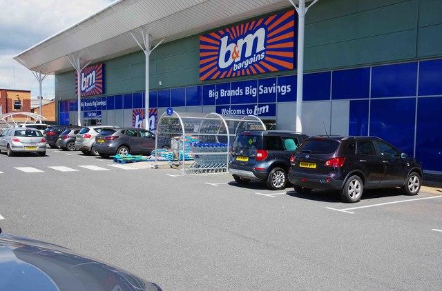 B & M Bargains, Units 1-2 Droitwich Retail Park, Kidderminster Road, Droitwich Spa, Worcs