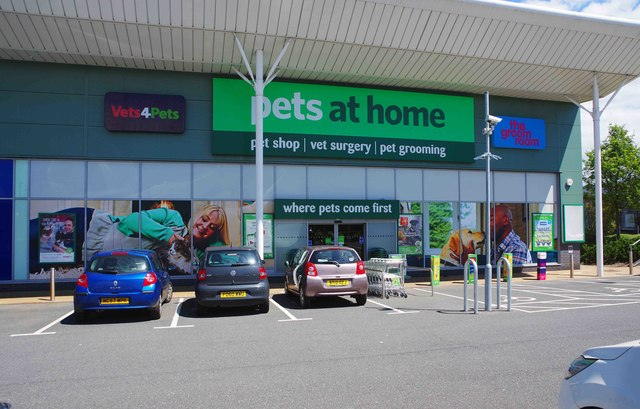 Pets at Home, Unit 3 Droitwich Retail Park, Kidderminster Road, Droitwich Spa, Worcs