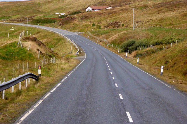 A970 Northbound near Olna Firth