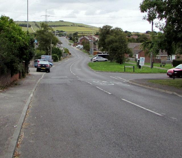 East along Littlemoor Road, Weymouth