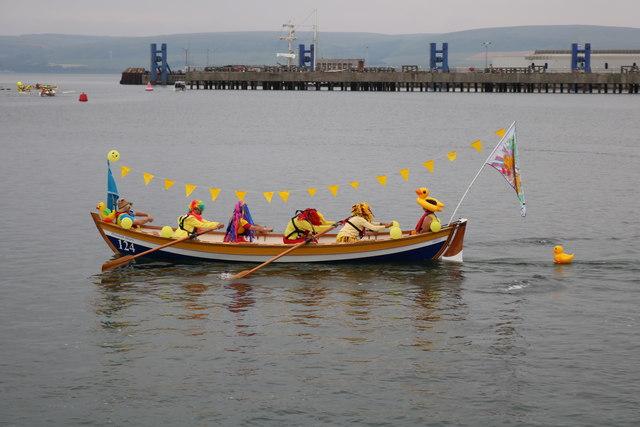 Daft Duck Day Parade, Stranraer