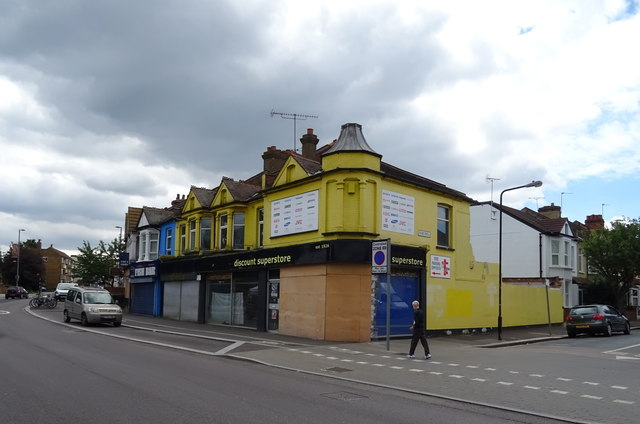 Shops on Forest Road, Walthamstow