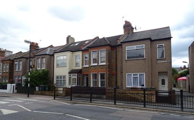 Houses on Fulbourne Road, E17