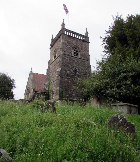 Tower of St Arilda's Church, Oldbury-on-Severn