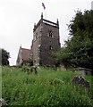 ST6091 : Tower of St Arilda's Church, Oldbury-on-Severn by Jaggery