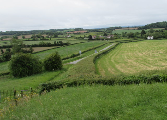 View towards Cowhill, South Gloucestershire