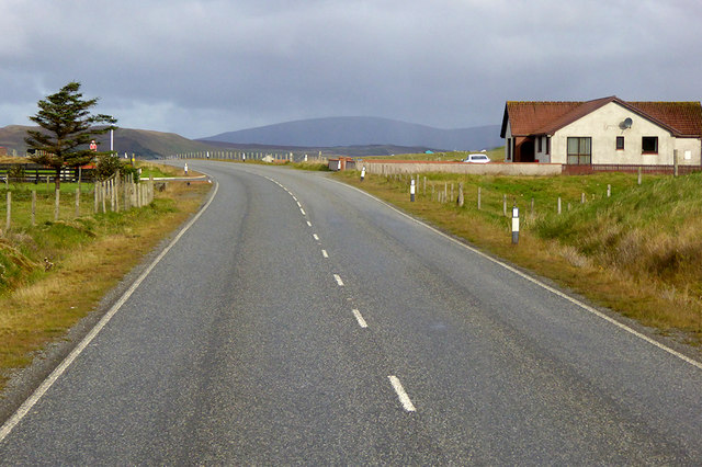 Northbound A970, Valleyfield