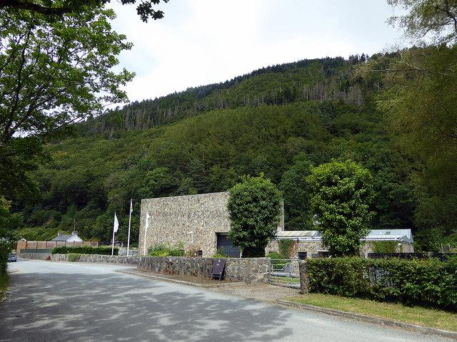 Cwm Rheidol hydro-electric power station
