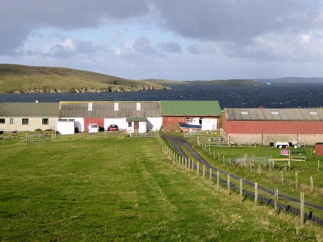 Farm on Trondra