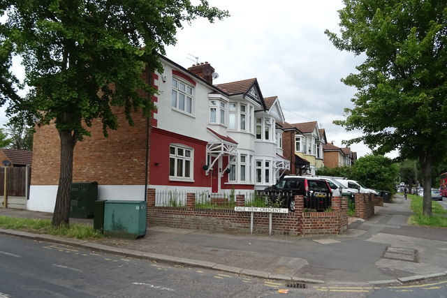 Houses on Larkshall Road, Chingford