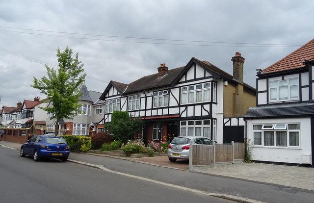 Houses on Kimberley Road, Chingford