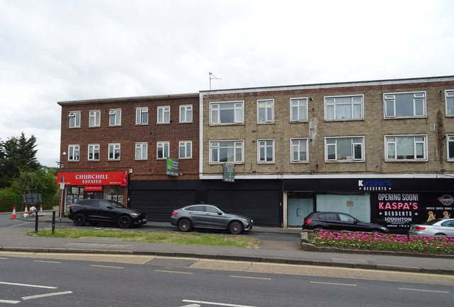 Shops on High Road, Loughton