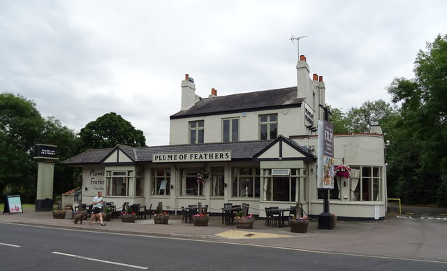 The Plume of Feathers, Loughton