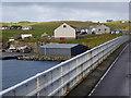 HU3835 : West Burra Shore at Easterdale by David Dixon