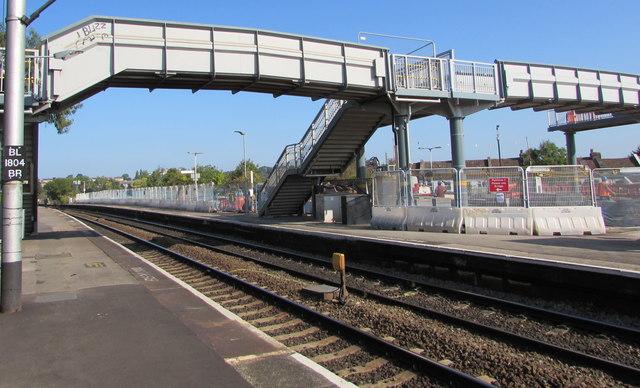 Stapleton Road railway station footbridge, Bristol