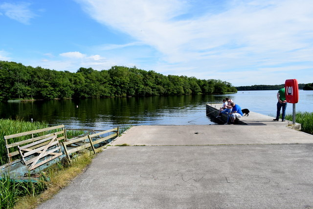 Launching area, Lough Erne