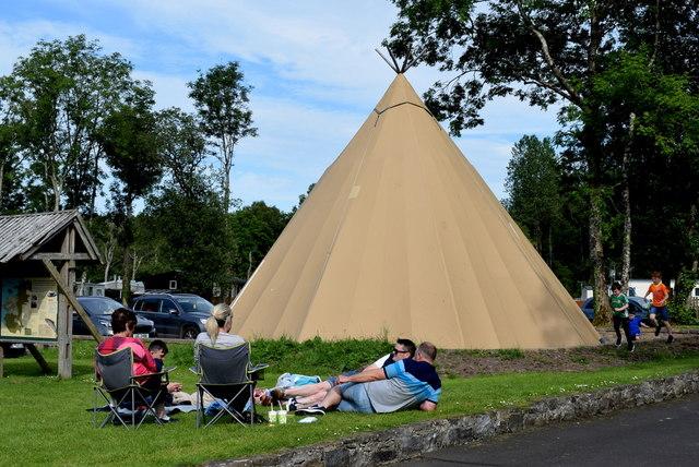 Wigwam, Castle Archdale Caravan Park