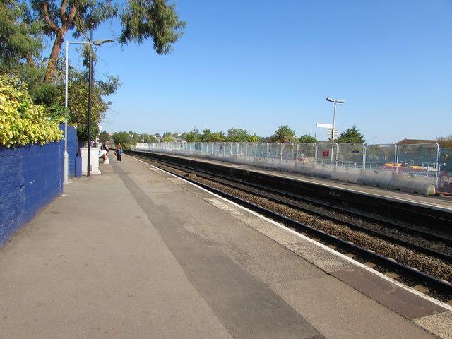 Platform 1, Stapleton Road station, Bristol