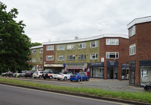 Shops on Lower Road, Loughton