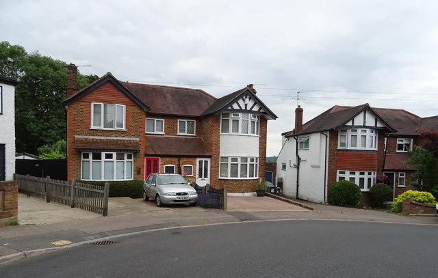 Houses on Goldings Road, Loughton
