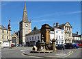 ST9273 : Church and Memorial, Chippenham by Des Blenkinsopp