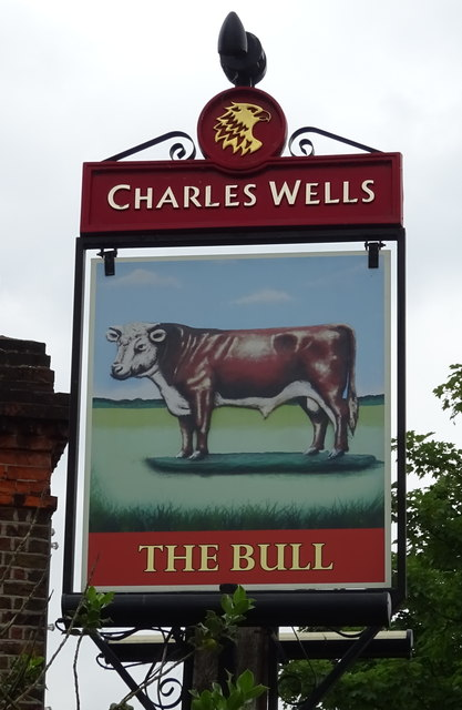 Sign for the Bull, Theydon Bois