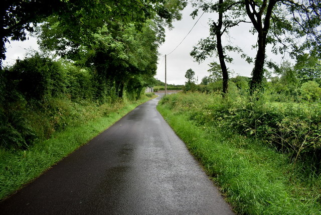 Wet along Loughmuck Road