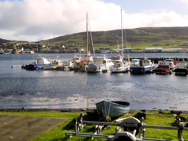 Marina and Harbour at Scalloway