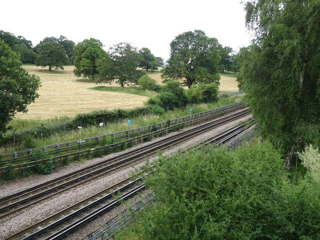 Railway, Theydon Bois
