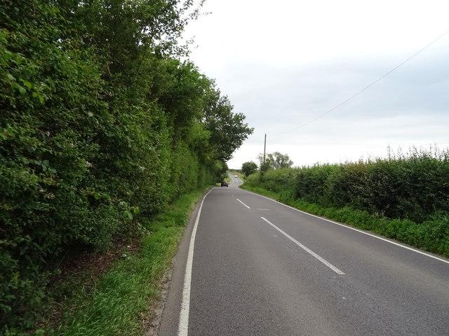 Hobbs Cross Road towards Epping