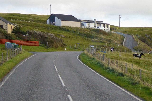 A971 near Haggersta