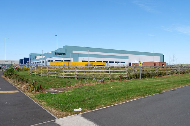 Amazon Distribution Centre, Warrington