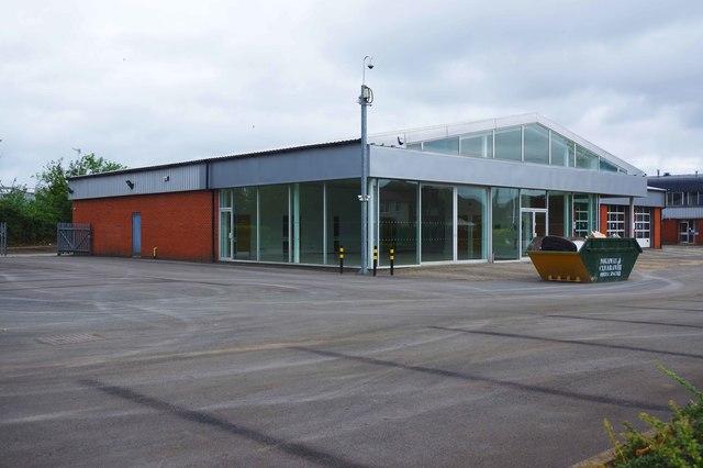 Former Hylton's Nissan dealership (1), Everoak Industrial Estate, Bromyard Road, St. John's, Worcester