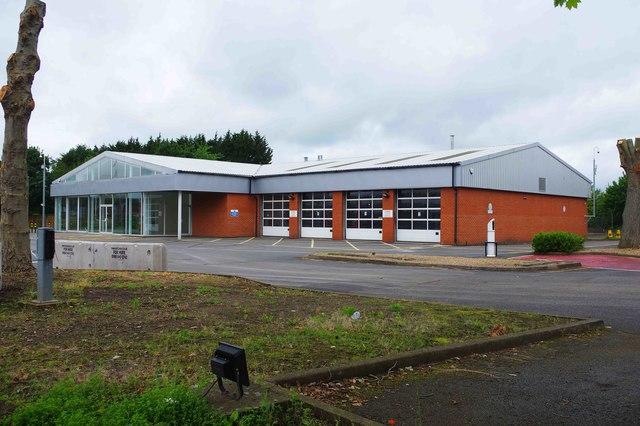 Former Hylton's Nissan dealership (2), Everoak Industrial Estate, Bromyard Road, St. John's, Worcester
