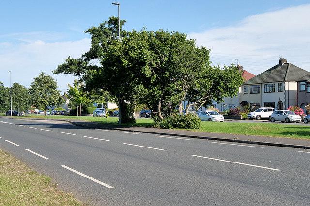 Lingley Green, Liverpool Road (A57)
