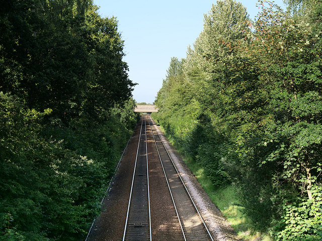 Railway Line towards Warrington