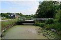 SJ5887 : Sankey Bridges: Swing Bridge over the Sankey Canal by David Dixon