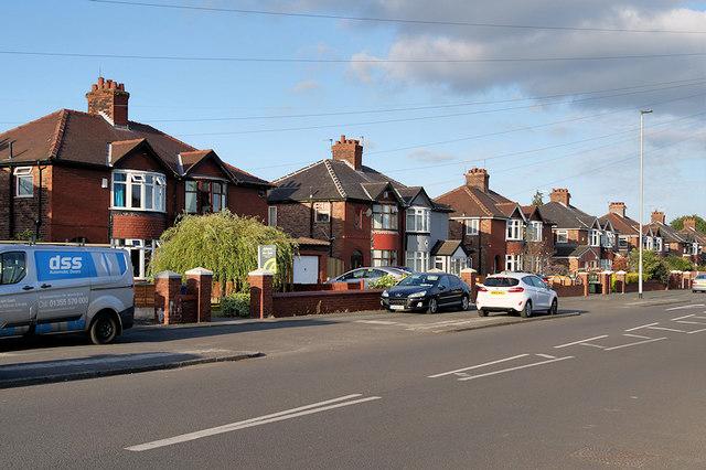 Great Sankey, Liverpool Road
