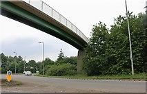 TF1505 : Footbridge over the A15, Glinton by David Howard