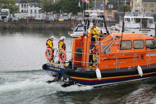 Girvan Lifeboat, Stranraer Harbour