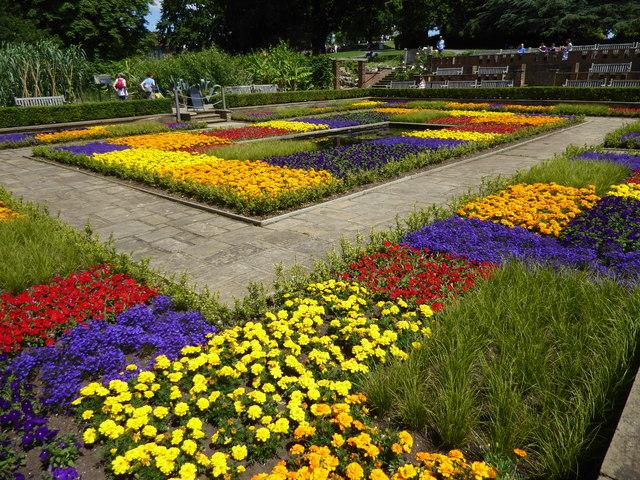 The Sunken Garden in Horniman Gardens