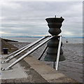 SD4264 : Morecambe Bay Time and Tide Bell by Ian Taylor