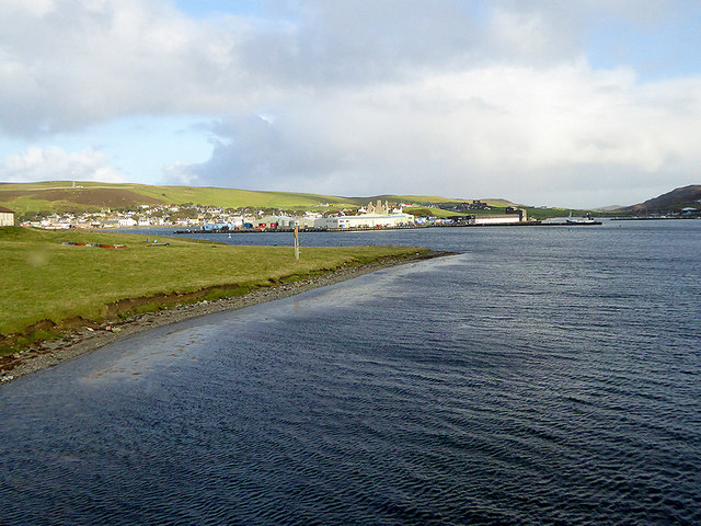 Trondra and the East Voe of Scalloway
