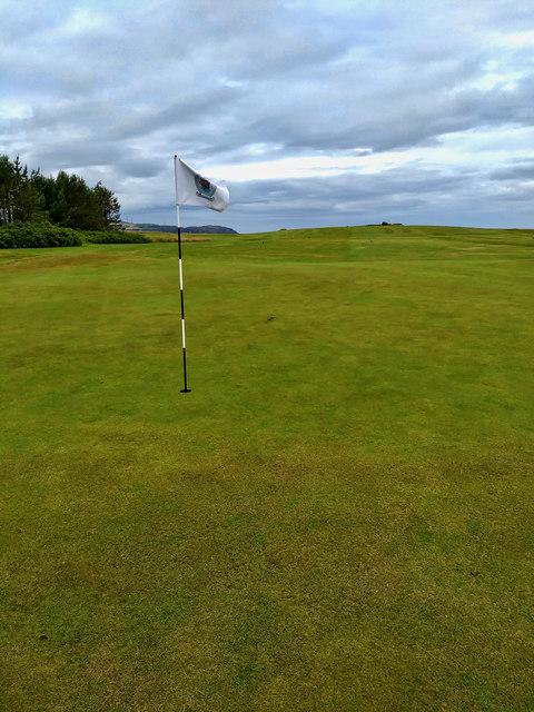 A Green, Eyemouth Golf Course