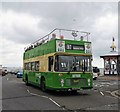 TV6198 : Open Topped Bus at Eastbourne Seafront by PAUL FARMER
